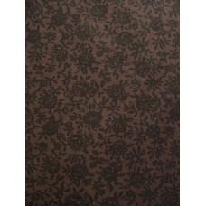 Brown Floral Sheet Set