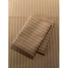 Khaki Stripe Sheet Set