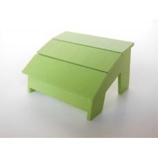 Loll 3 Slat Ottoman in Green