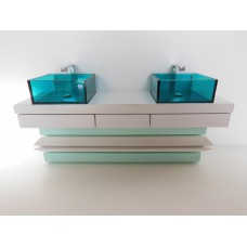 Seychelles Dual Vanity Cabinet Only