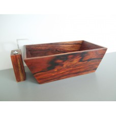 Adagio Tub in Cocobolo