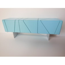 Cole Entertainment Console in Blue